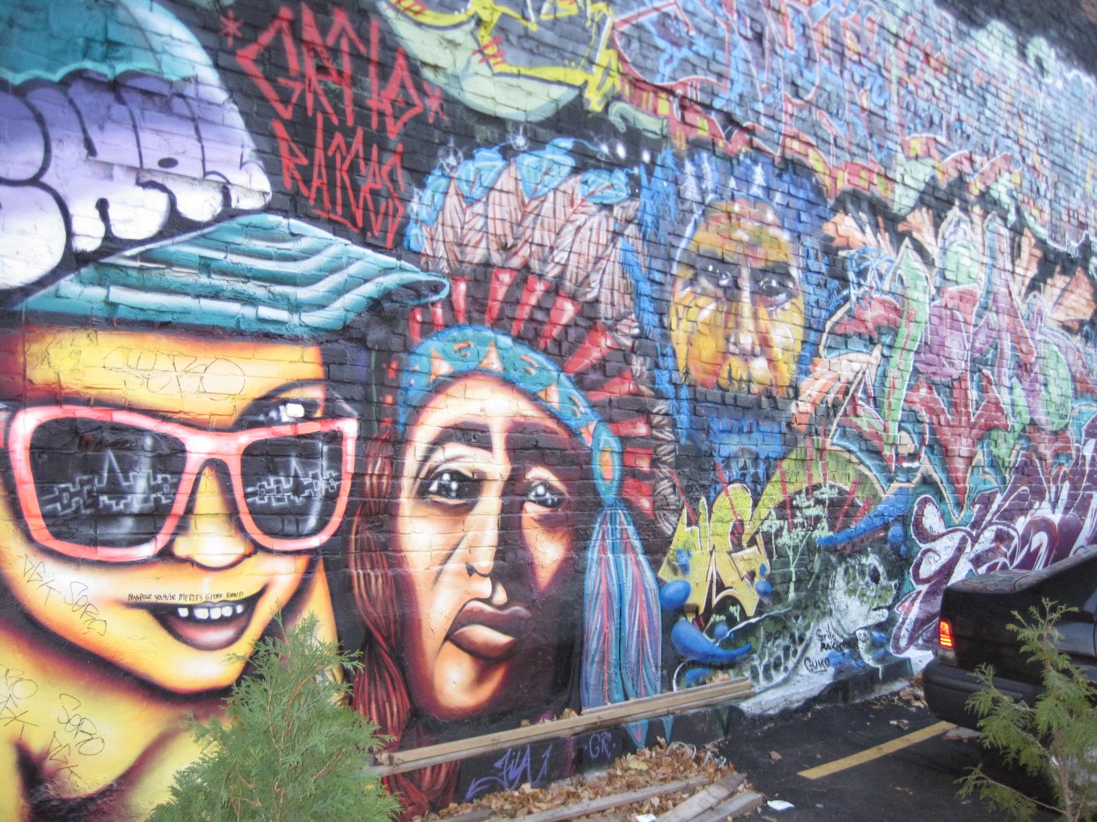 les plus beaux graffitis du monde