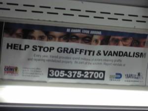 MIAMI DADE GRAFFITI SUCH A SHAME